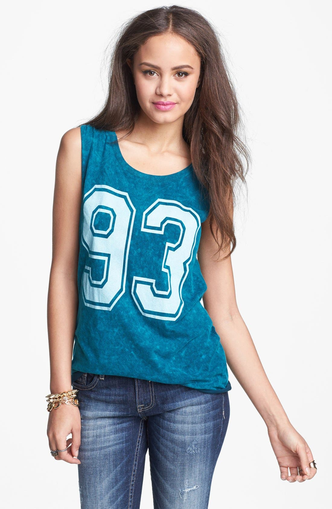 Alternate Image 1 Selected - Project Social T '93' Graphic Muscle Tank (Juniors)
