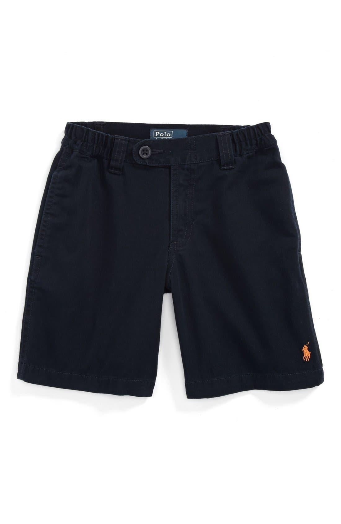 Alternate Image 1 Selected - Ralph Lauren 'Prospect' Shorts (Toddler Boys)