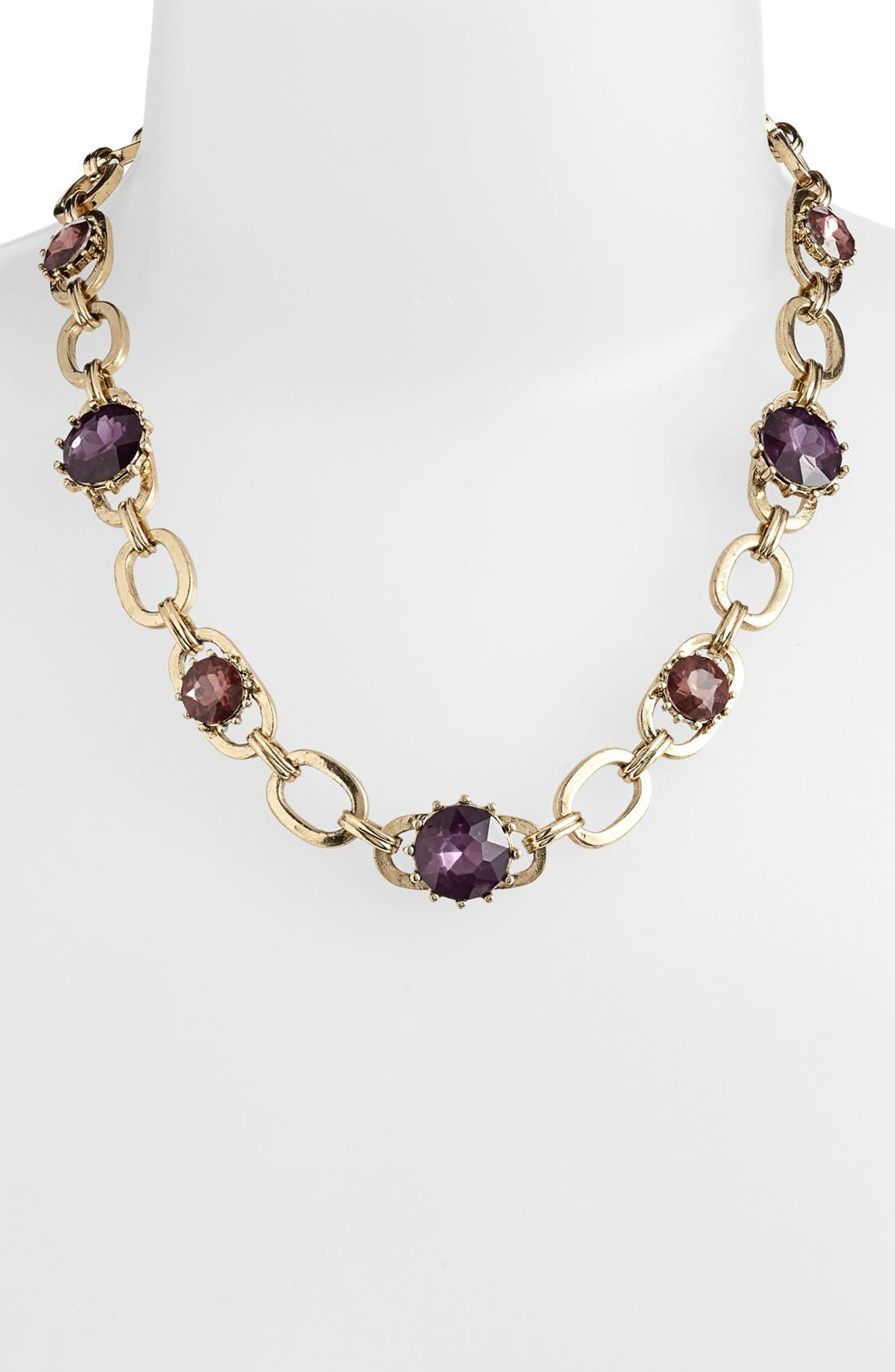Main Image - Anne Klein Link Collar Necklace