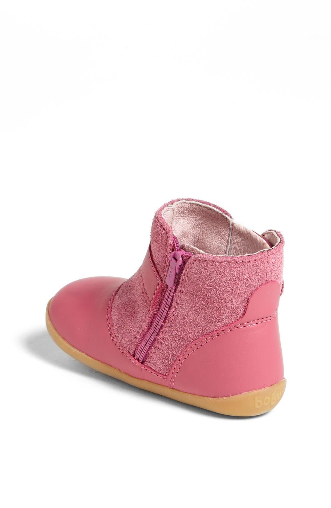 Alternate Image 2  - Bobux® 'Step Up Sweetheart' Boot (Baby & Walker)