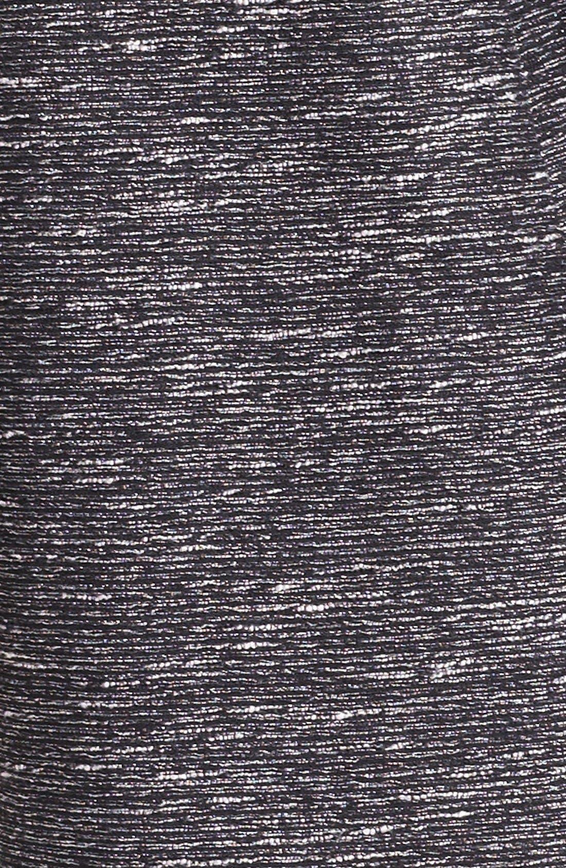 Alternate Image 5  - Vince Camuto Metallic Tweed Topper