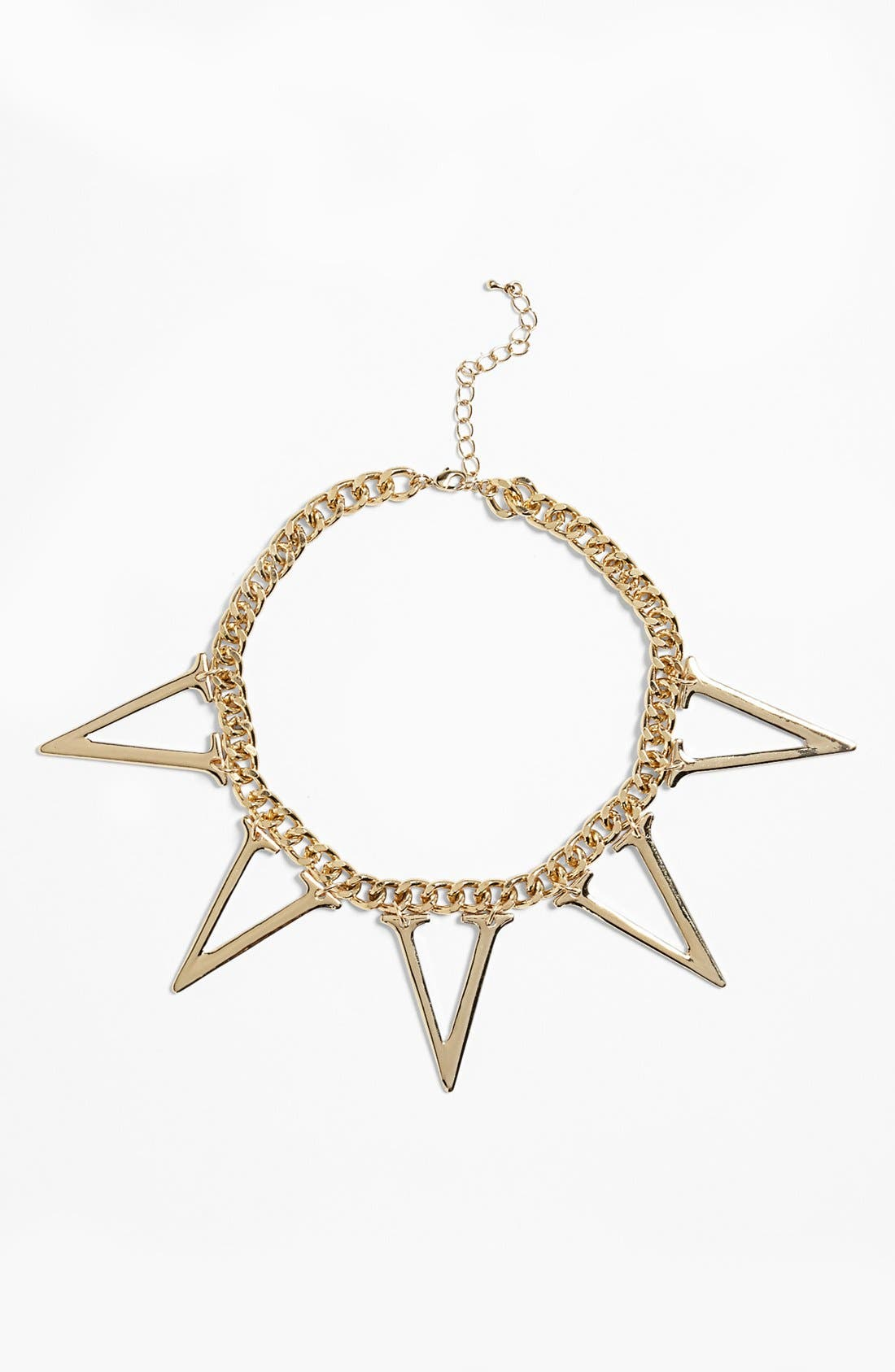 Main Image - Topshop Multi Initial Pendant Necklace
