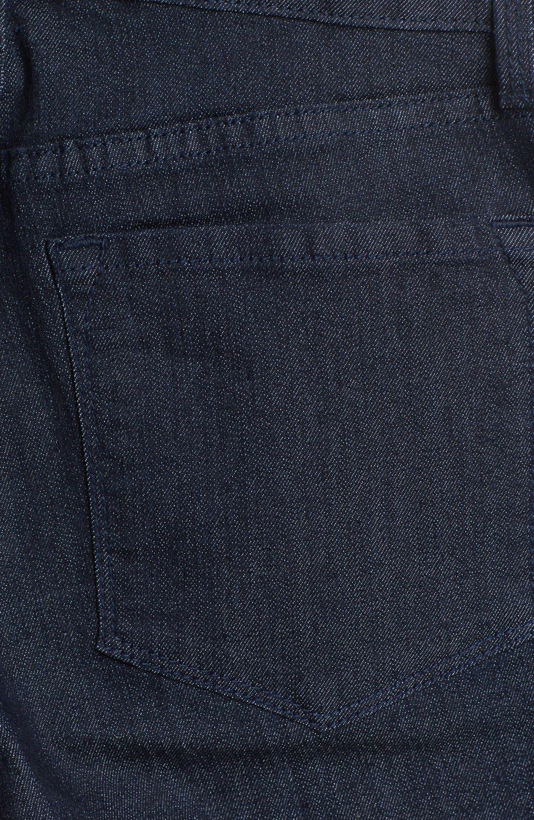 Alternate Image 3  - NYDJ 'Alina' Stretch Skinny Jeans (Dark Enzyme) (Petite)