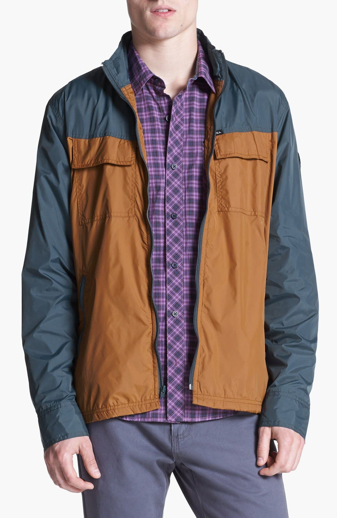 Alternate Image 1 Selected - RVCA 'Bay Blocker' Windbreaker Jacket