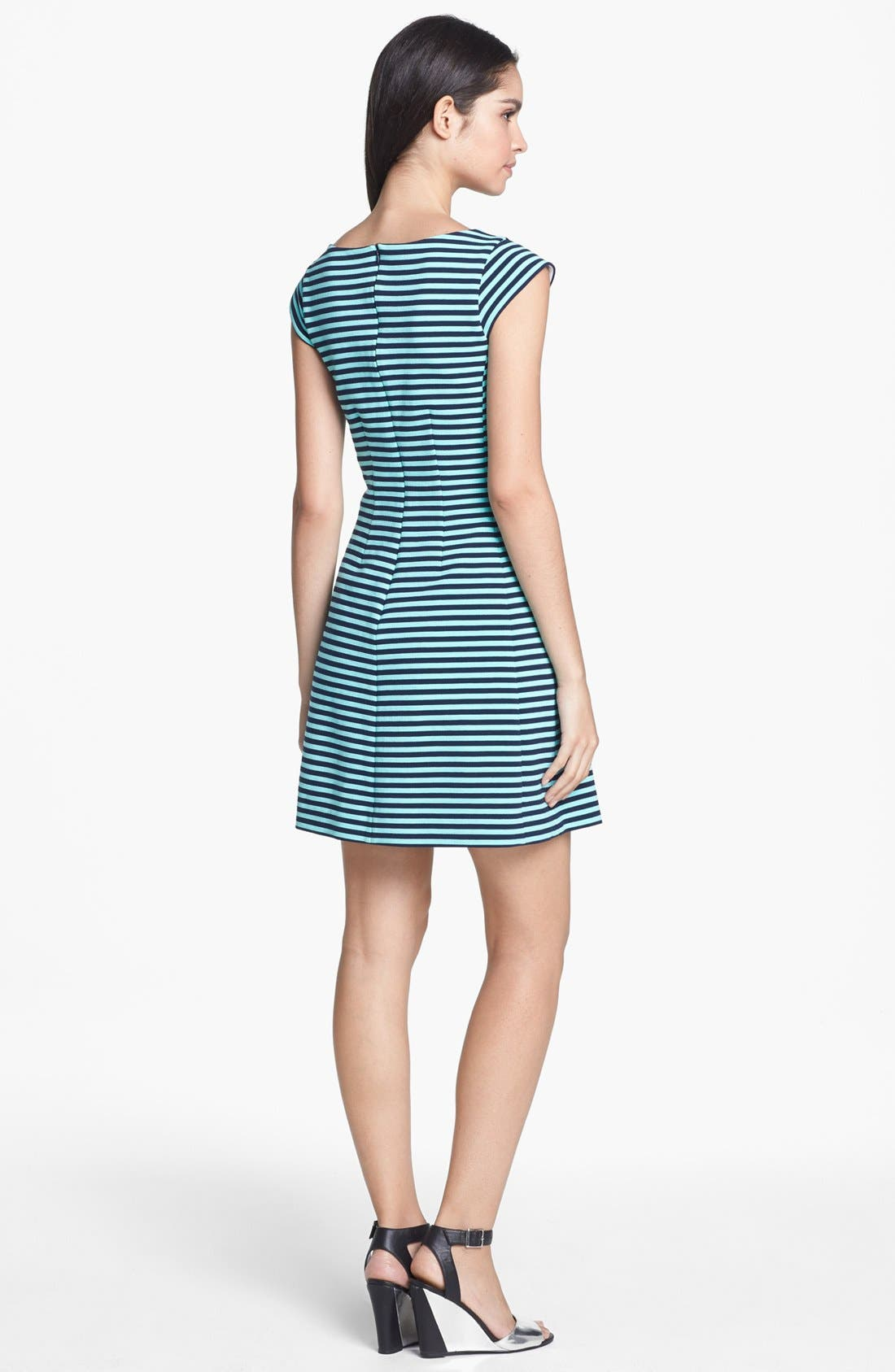 Alternate Image 2  - Lilly Pulitzer® 'Briella' Stripe Fit & Flare Dress