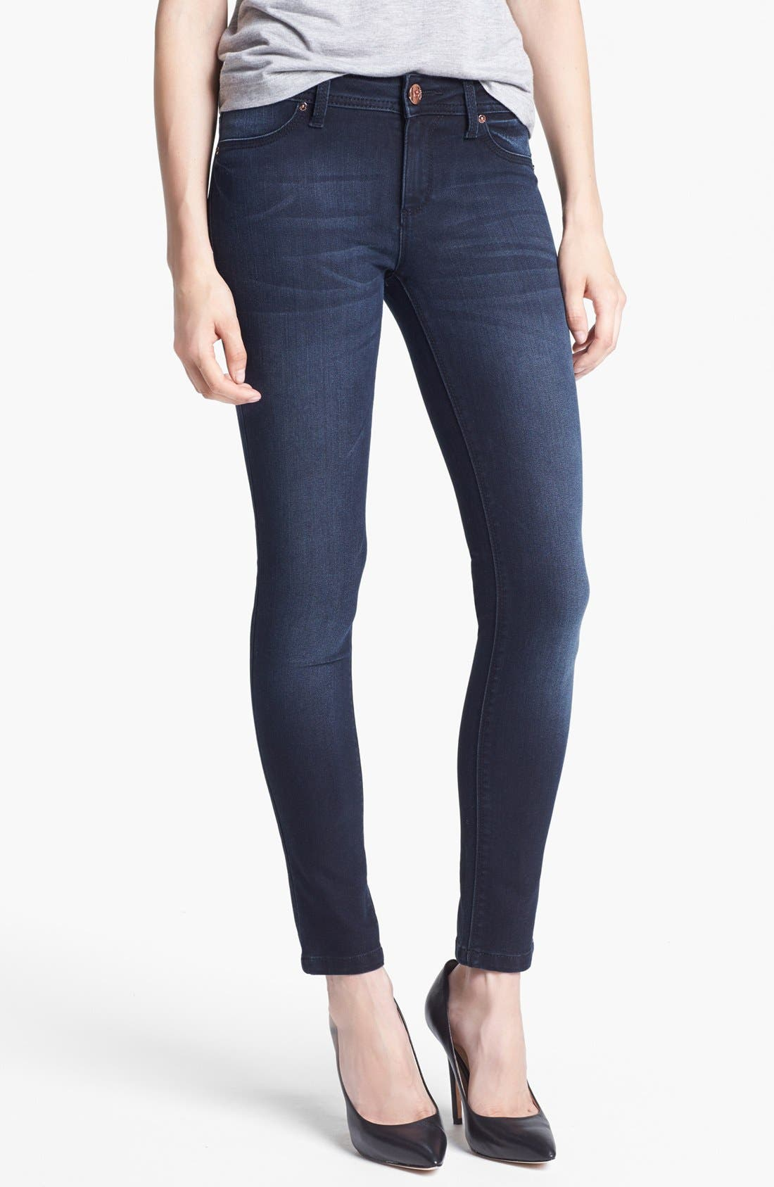 Alternate Image 1  - DL1961 'Emma' Denim Leggings (Vienna)
