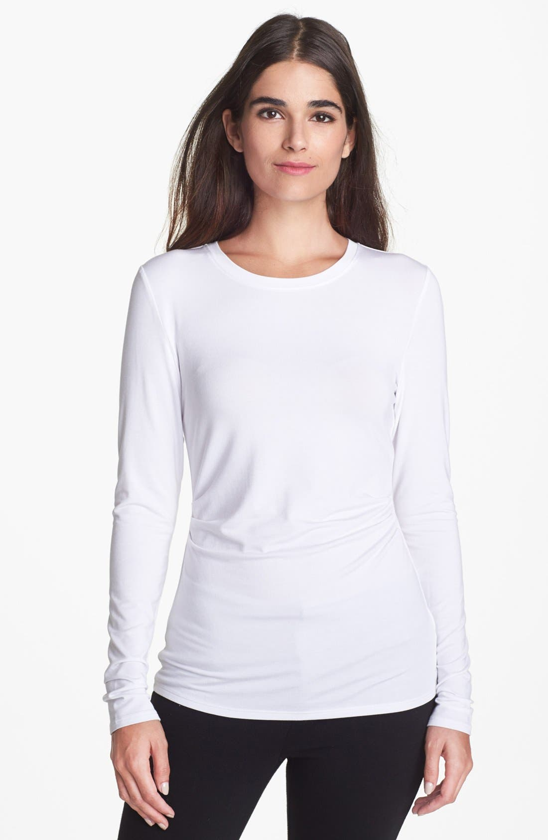 Alternate Image 1 Selected - Nordstrom Collection Stretch Modal Tee