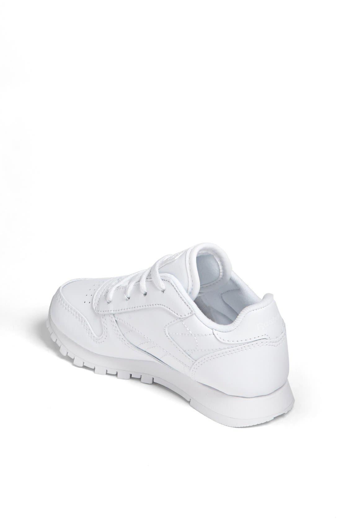 Alternate Image 2  - Reebok 'Classic' Leather Sneaker (Baby, Walker & Toddler)