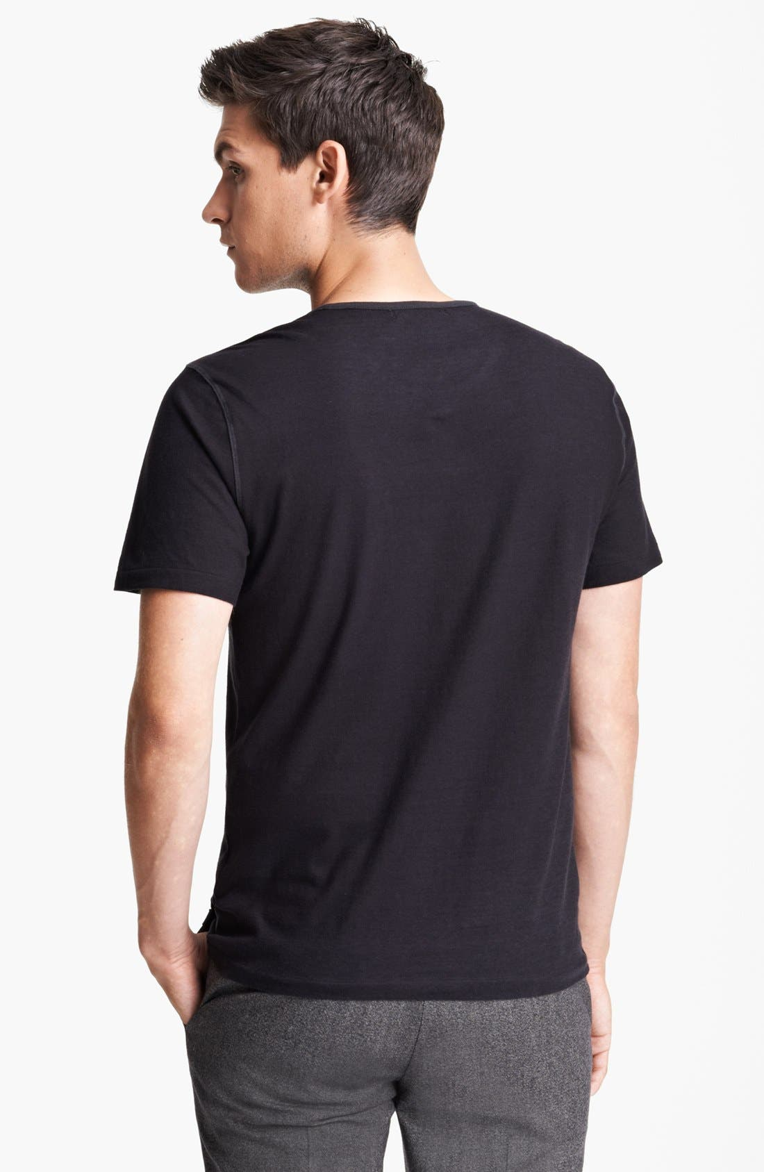 Alternate Image 2  - John Varvatos Collection Crewneck T-Shirt