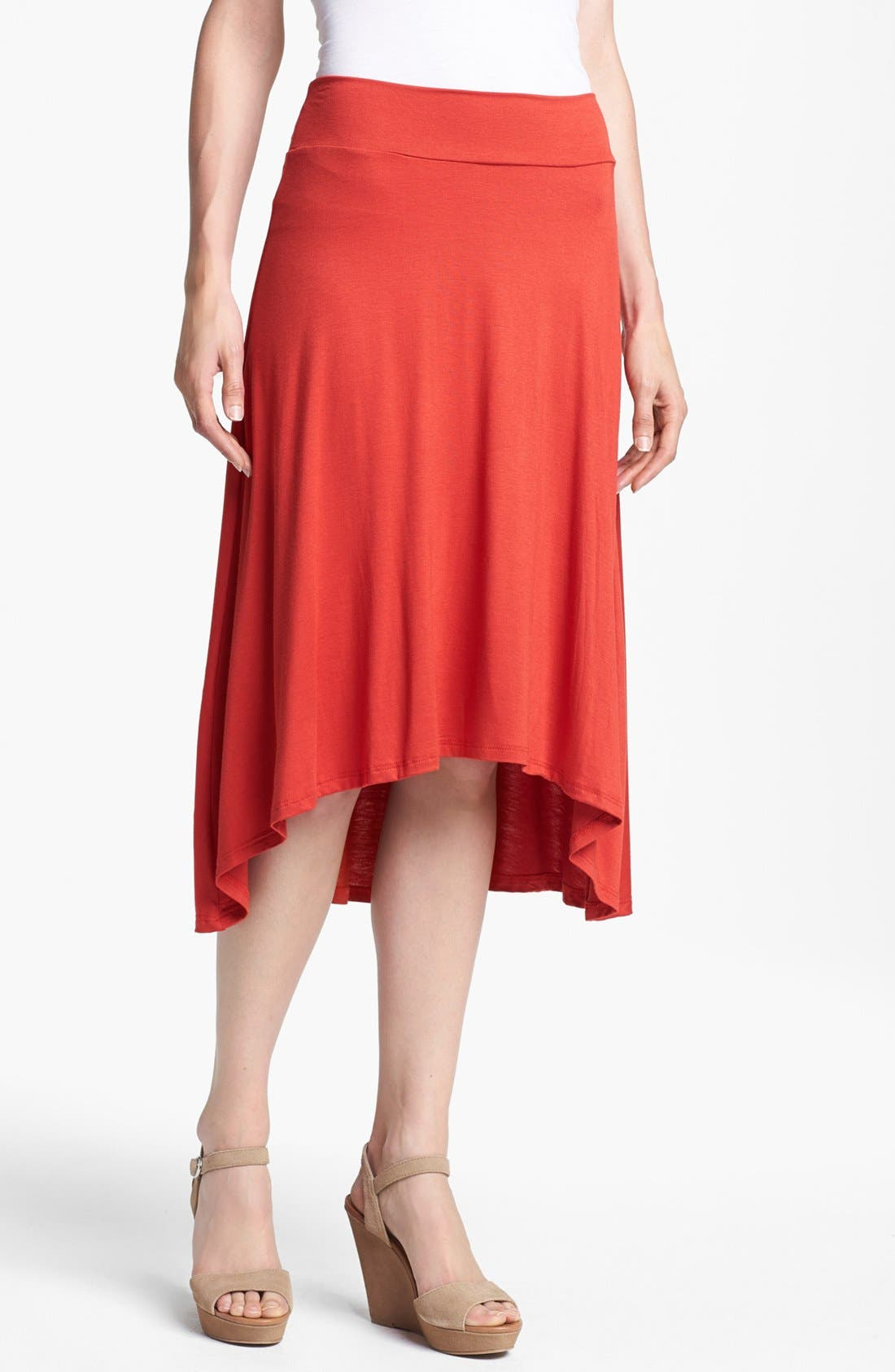 Alternate Image 1 Selected - MOD.lusive High/Low Skirt