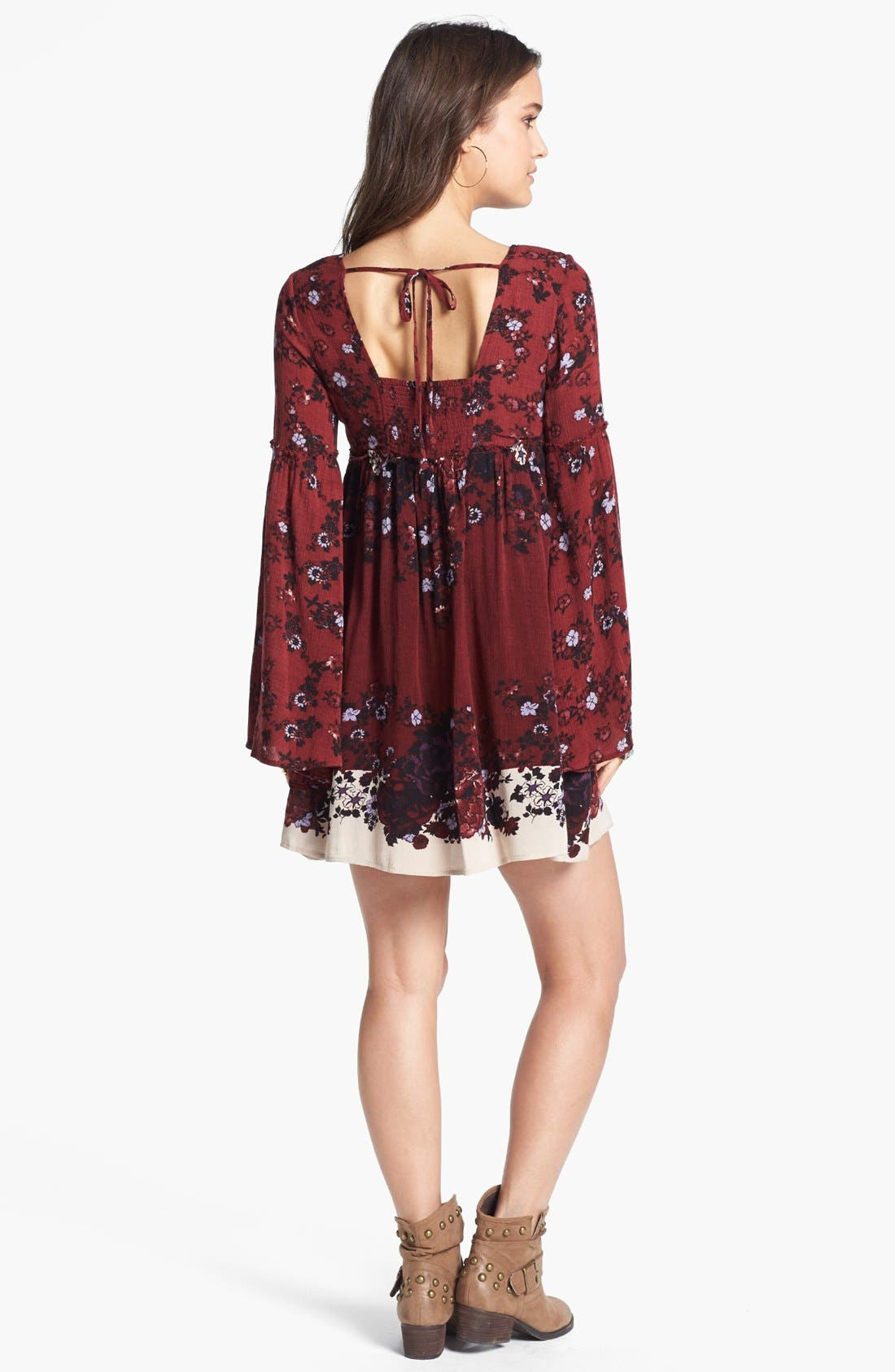 Alternate Image 2  - Free People 'Snap Out of It' Print Minidress