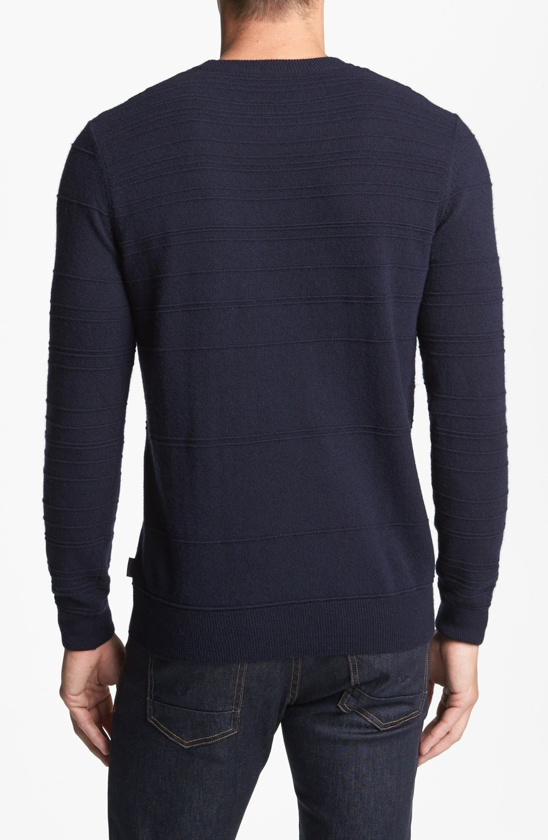 Alternate Image 2  - BOSS HUGO BOSS 'Murphy' Stripe Sweater