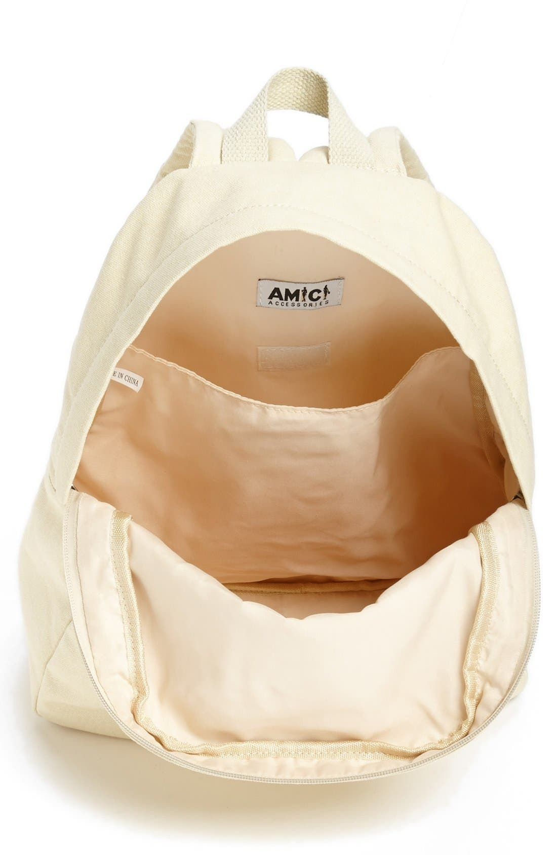Alternate Image 2  - Amici Accessories Tiger Print Backpack (Juniors) (Online Only)