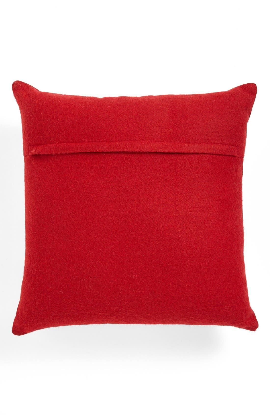 Alternate Image 2  - Shiraleah Ornaments Square Pillow