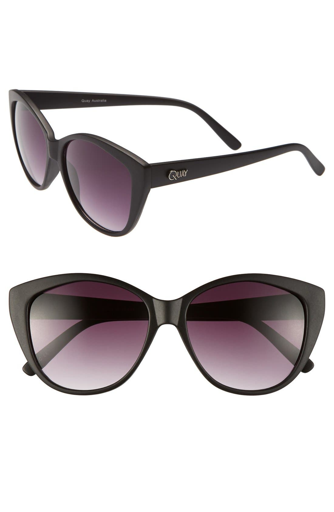 Main Image - Quay Cat's Eye Sunglasses