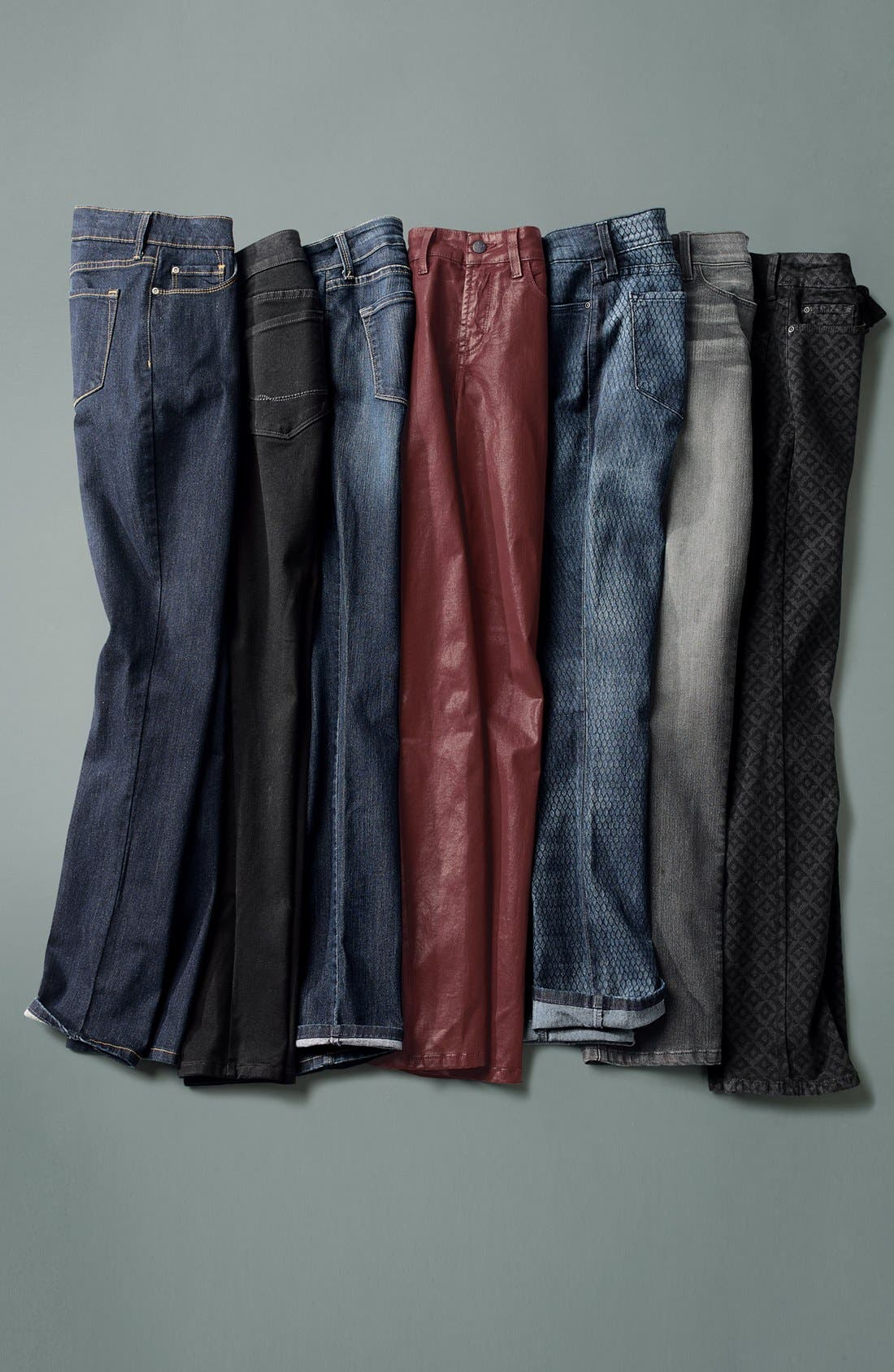 Alternate Image 3  - NYDJ 'Sheri' Coated Stretch Skinny Jeans (Plus)