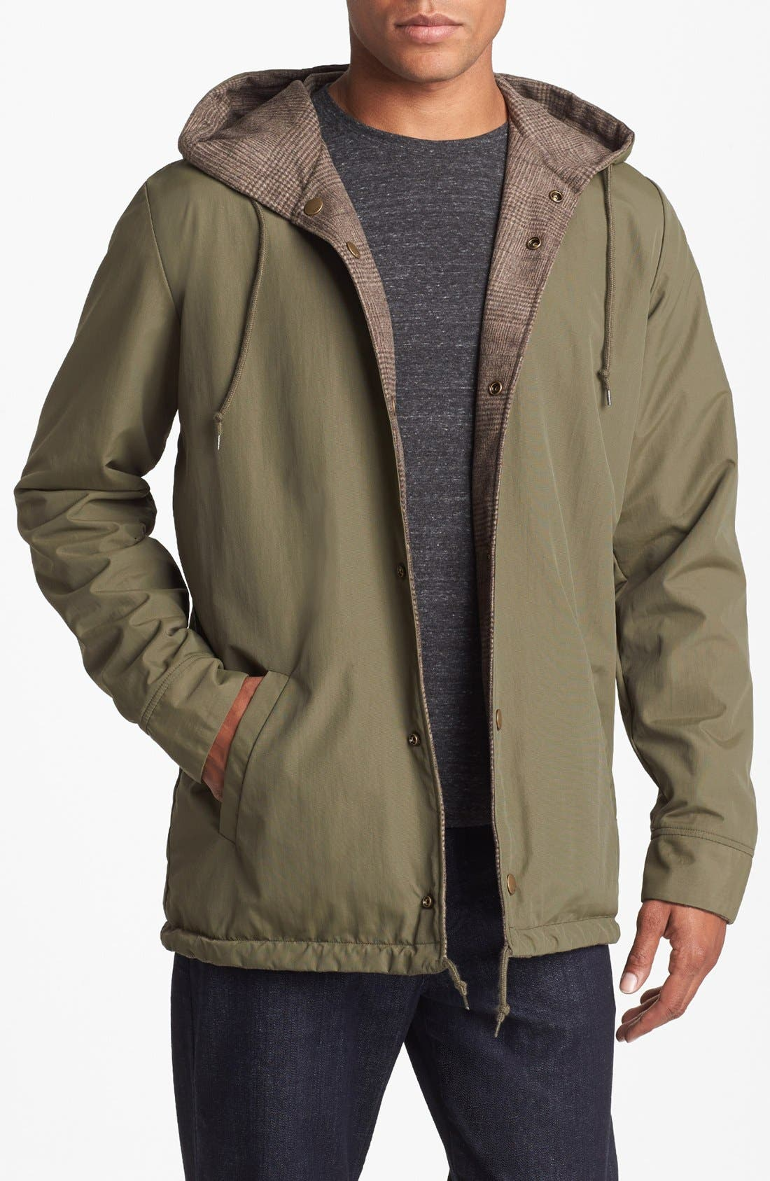 Alternate Image 2  - Obey 'Harken' Reversible  Hooded Jacket
