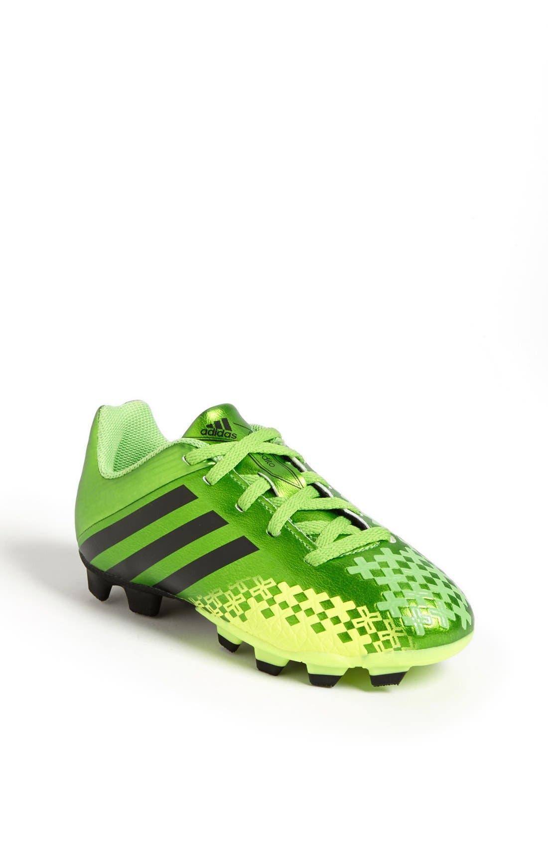 Main Image - adidas 'Predito LZ TRX FG' Soccer Cleat (Toddler, Little Kid & Big Kid)