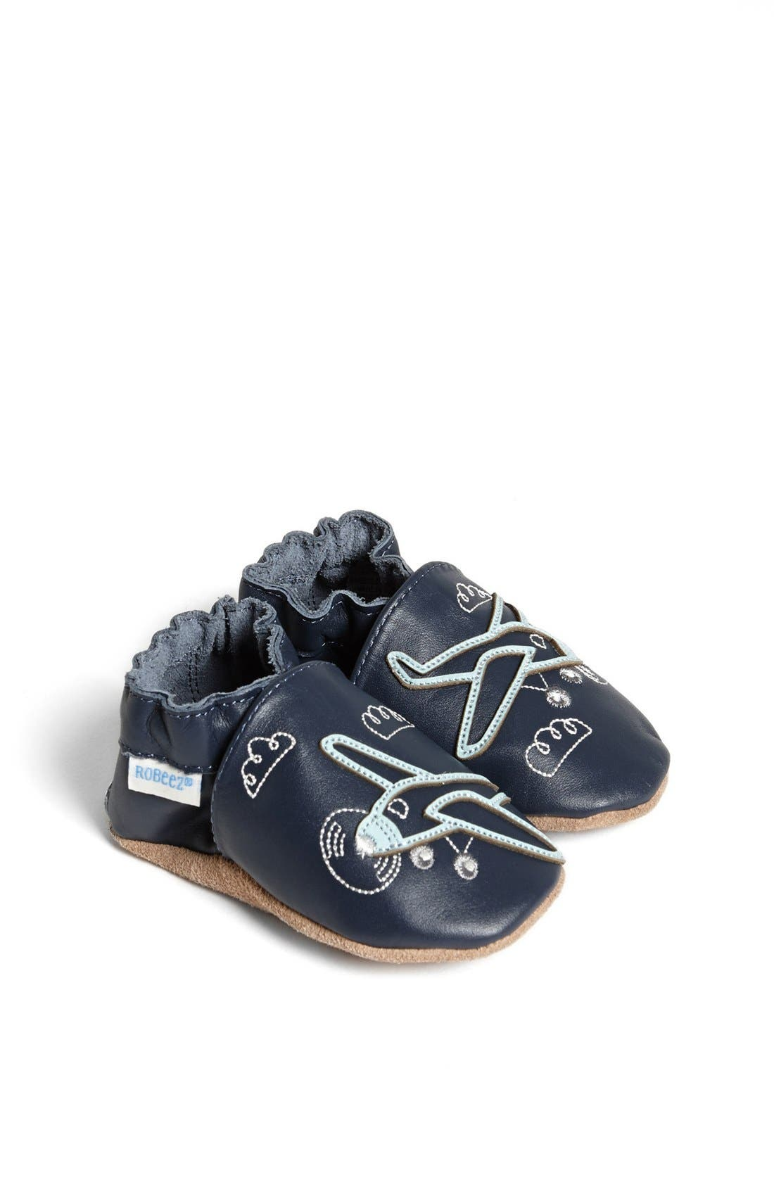 Alternate Image 1 Selected - Robeez® 'Flying High' Crib Shoe (Baby & Walker)