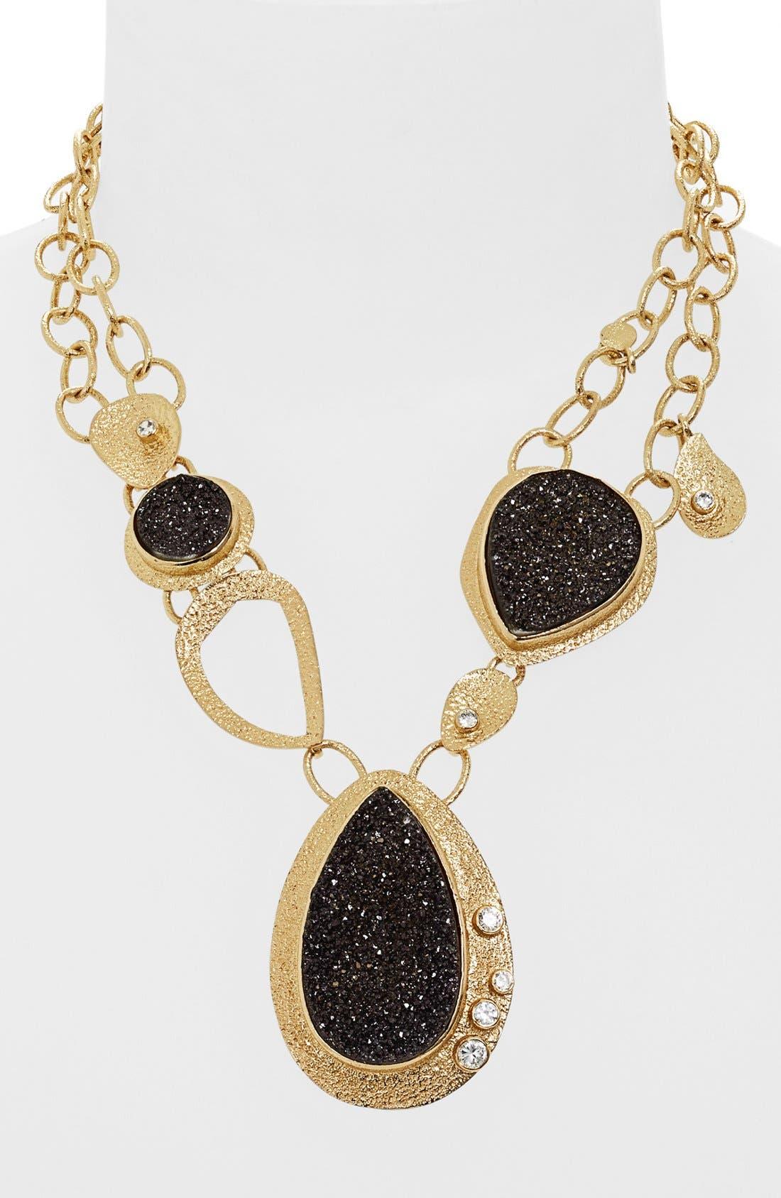 Alternate Image 1 Selected - Melinda Maria 'Gaia' Drusy Necklace