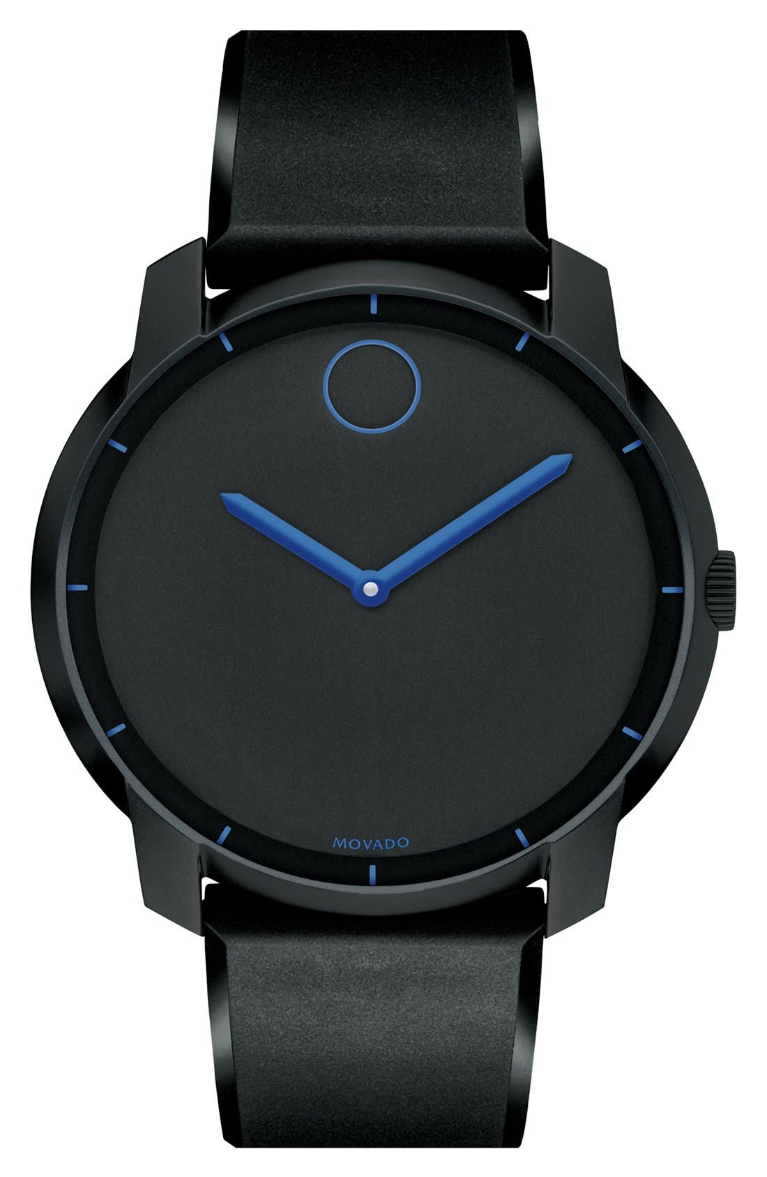 Main Image - Movado 'Bold' Silicone Strap Watch, 44mm