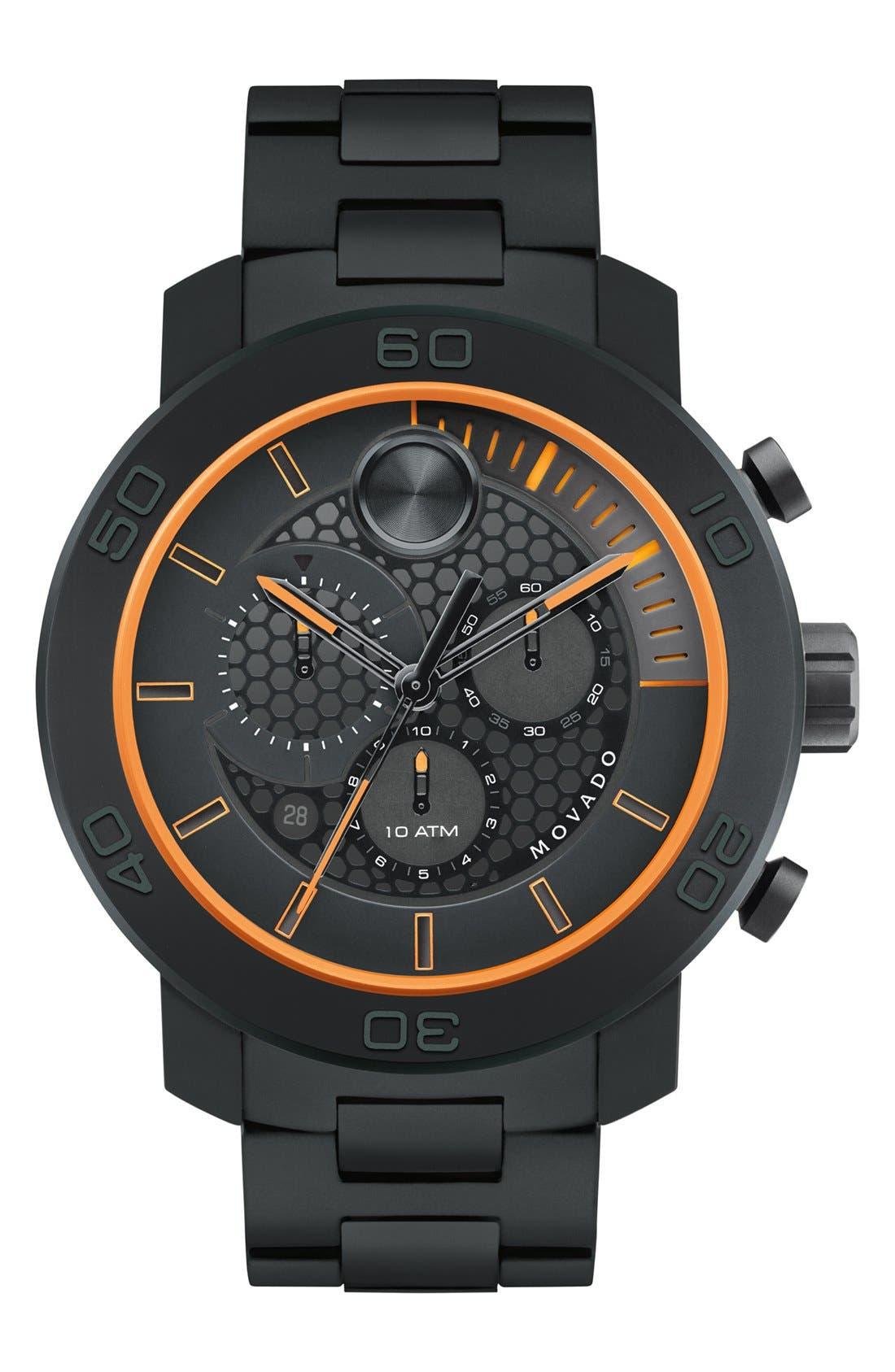 Alternate Image 1 Selected - Movado 'Bold' Chronograph Bracelet Watch, 46mm