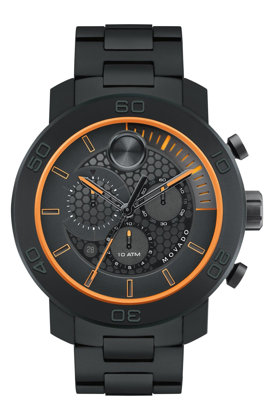 Main Image - Movado 'Bold' Chronograph Bracelet Watch, 46mm