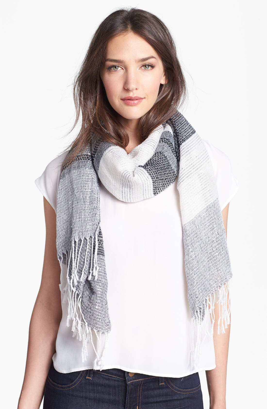 Main Image - Collection XIIX Woven Sequin Wrap