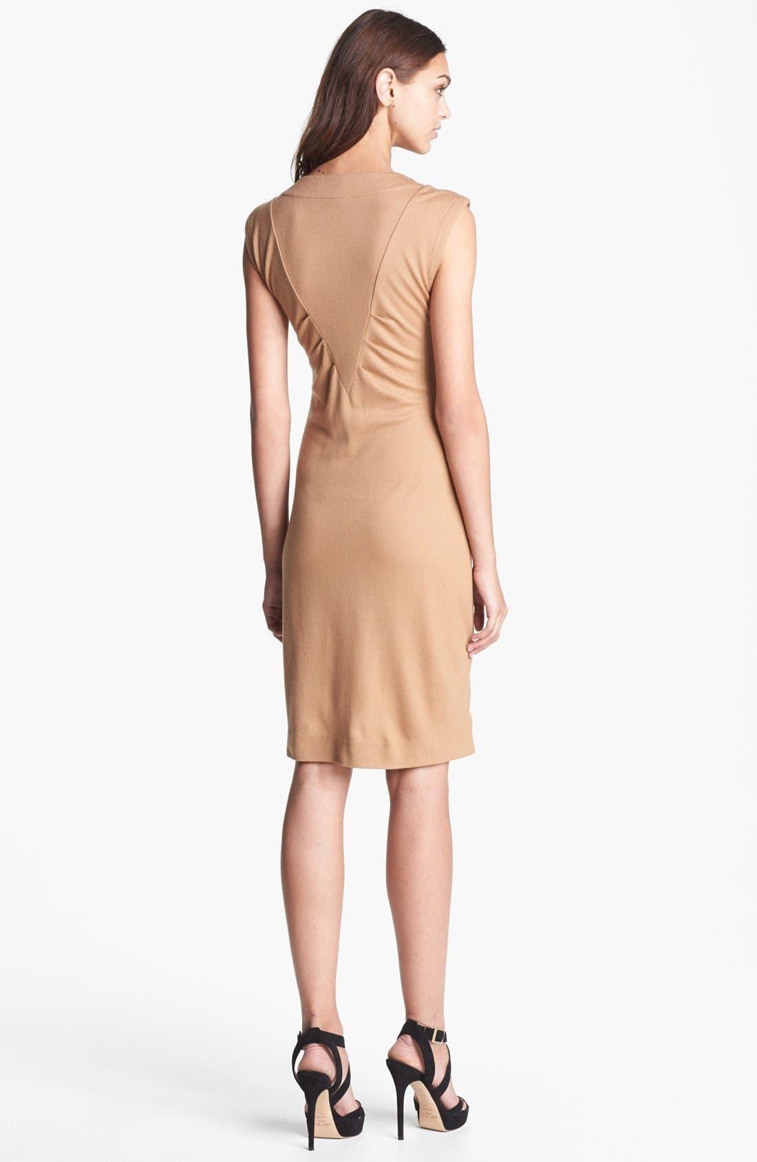 Alternate Image 2  - MARC BY MARC JACOBS 'Mercedes' Wool Sheath Dress