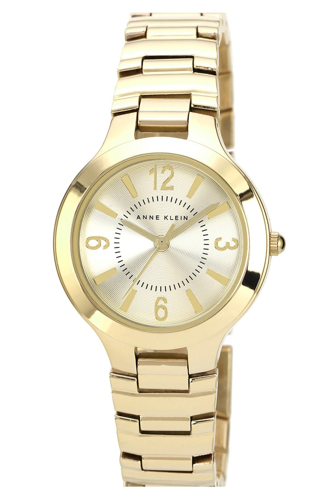 Alternate Image 1 Selected - Anne Klein Round Bracelet Watch, 32mm
