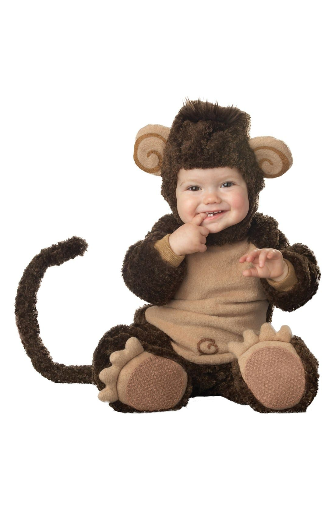 Alternate Image 1 Selected - InCharacter Costumes Plush Lil' Monkey (Baby)