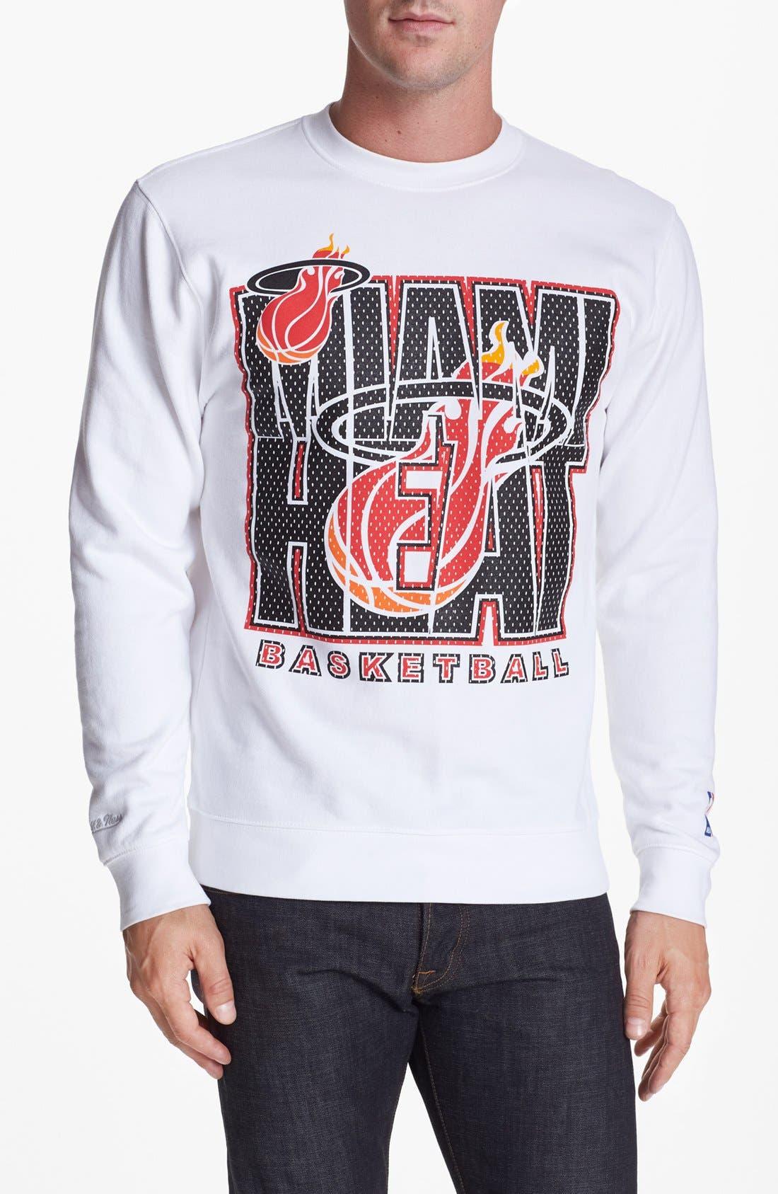 Alternate Image 1 Selected - Mitchell & Ness 'Miami Heat' Sweatshirt