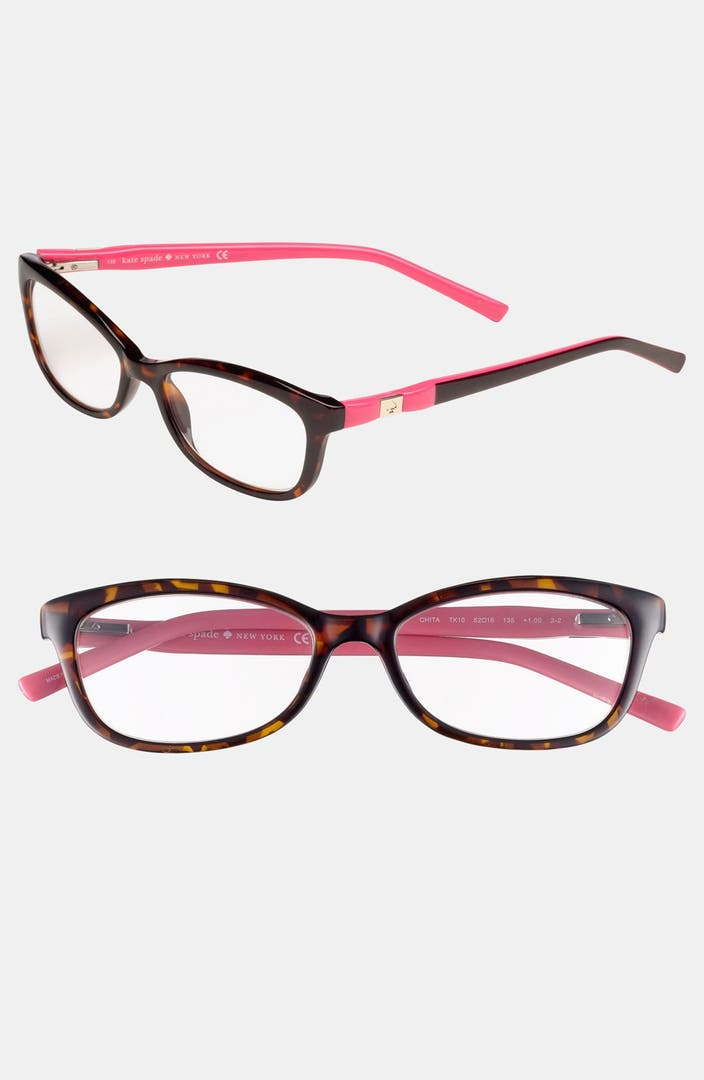 Plastic Glasses Frames Peeling : kate spade new york chita 52mm reading glasses Nordstrom
