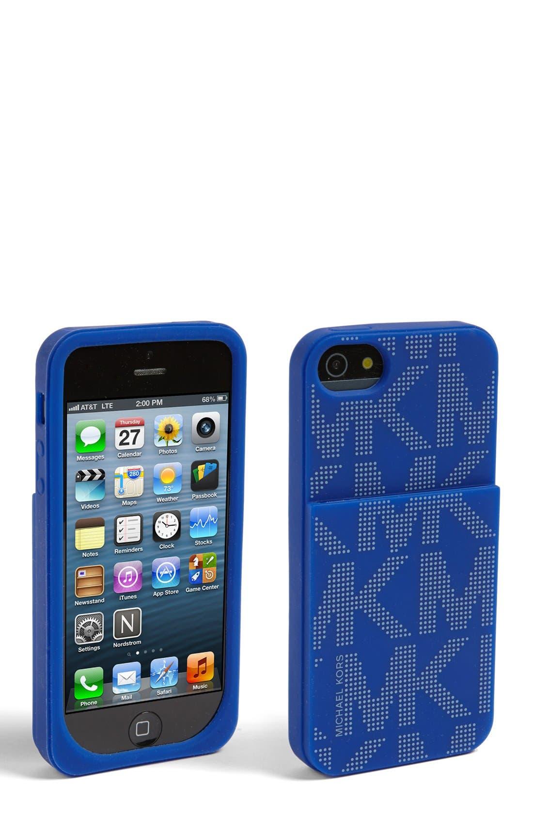 Main Image - MICHAEL Michael Kors 'Signature' iPhone 5 Case