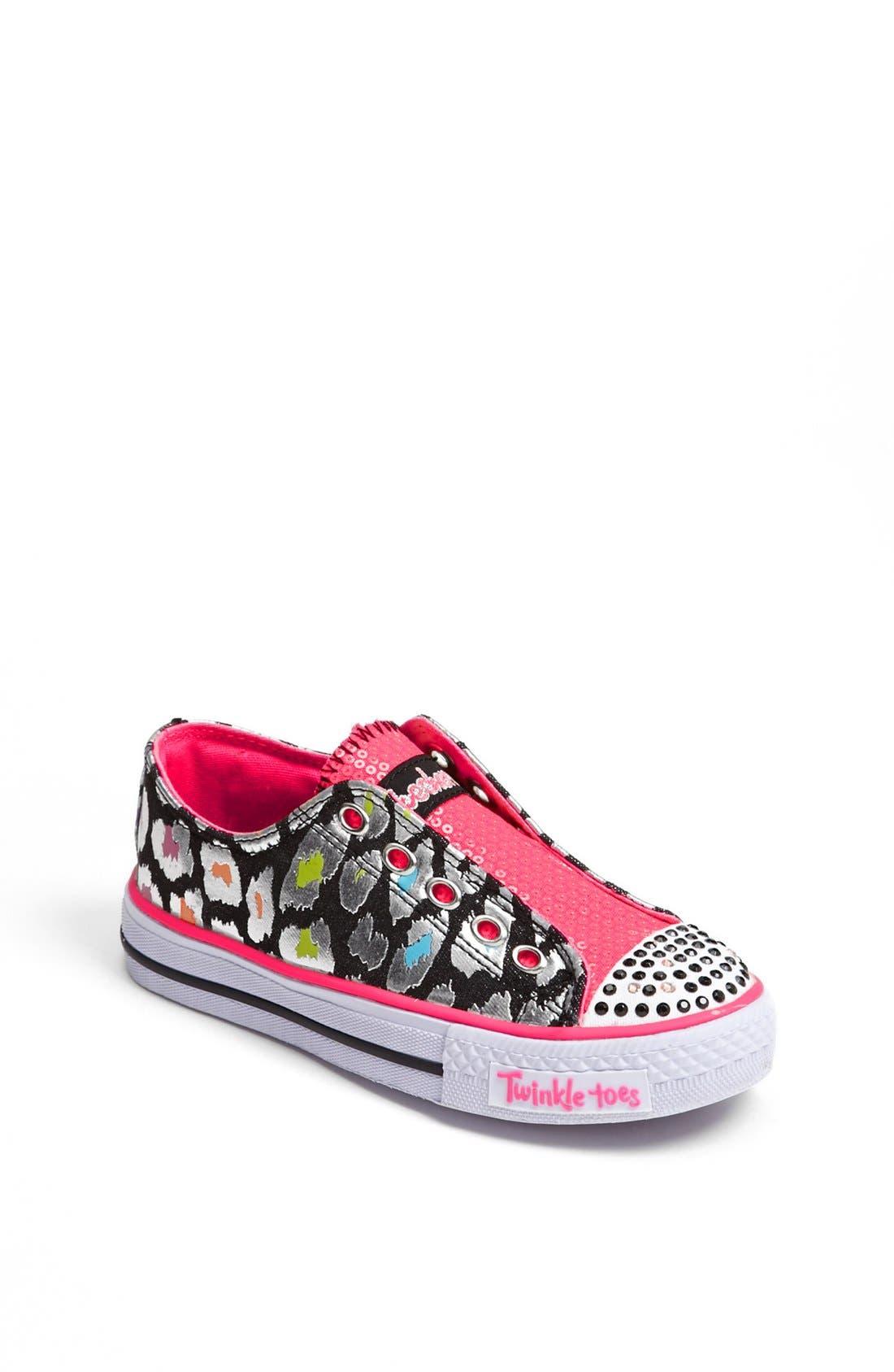 Main Image - SKECHERS 'Twinkle Toes' Light-Up Sneaker (Toddler & Little Kid)