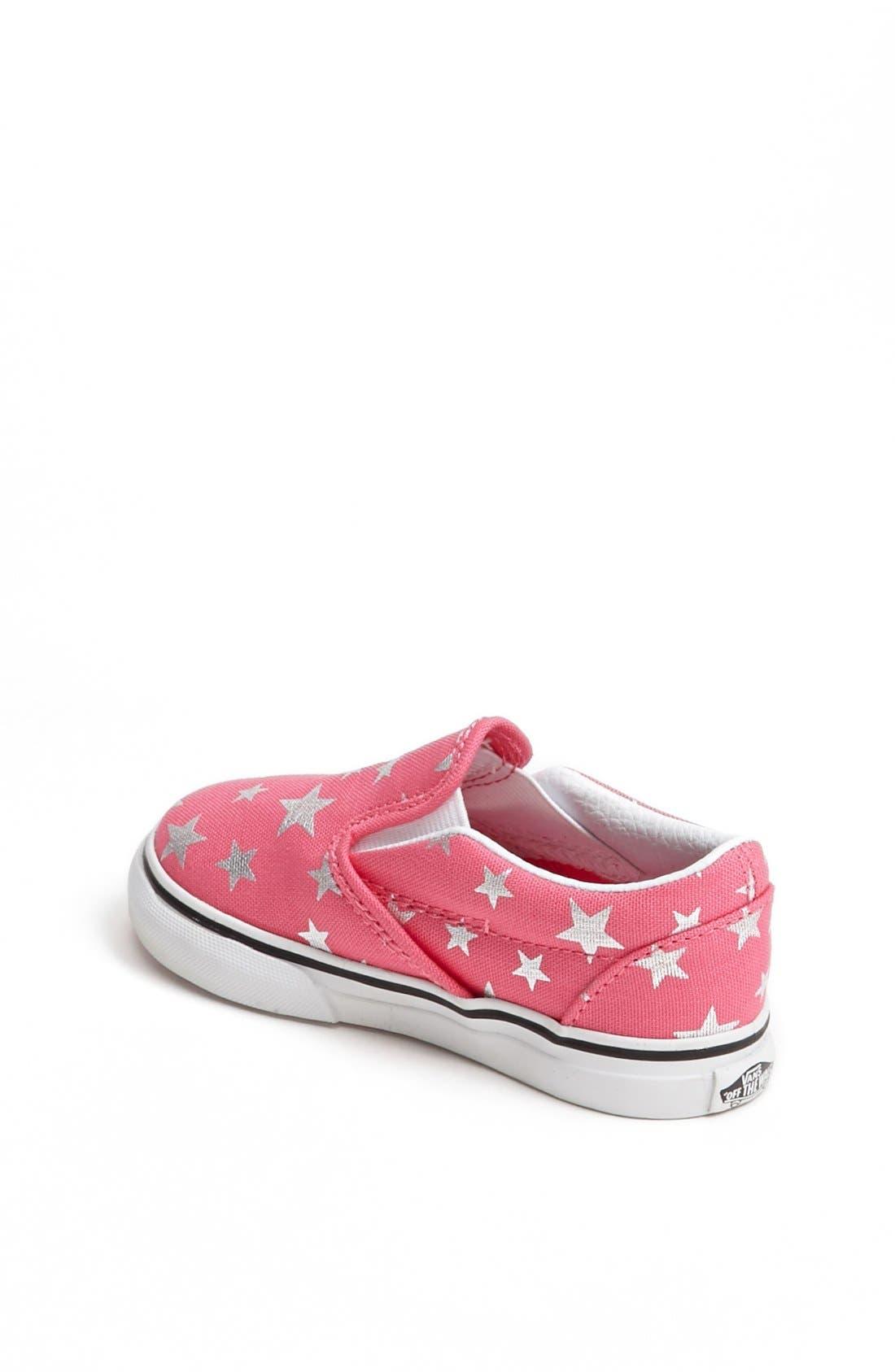 Alternate Image 2  - Vans Stars Slip-On (Baby, Walker & Toddler)