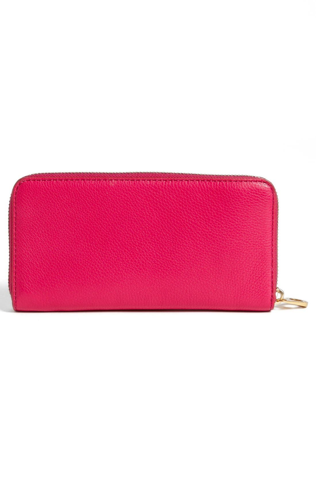 Alternate Image 4  - MARC BY MARC JACOBS 'Classic Q - Vertical Zippy' Wallet