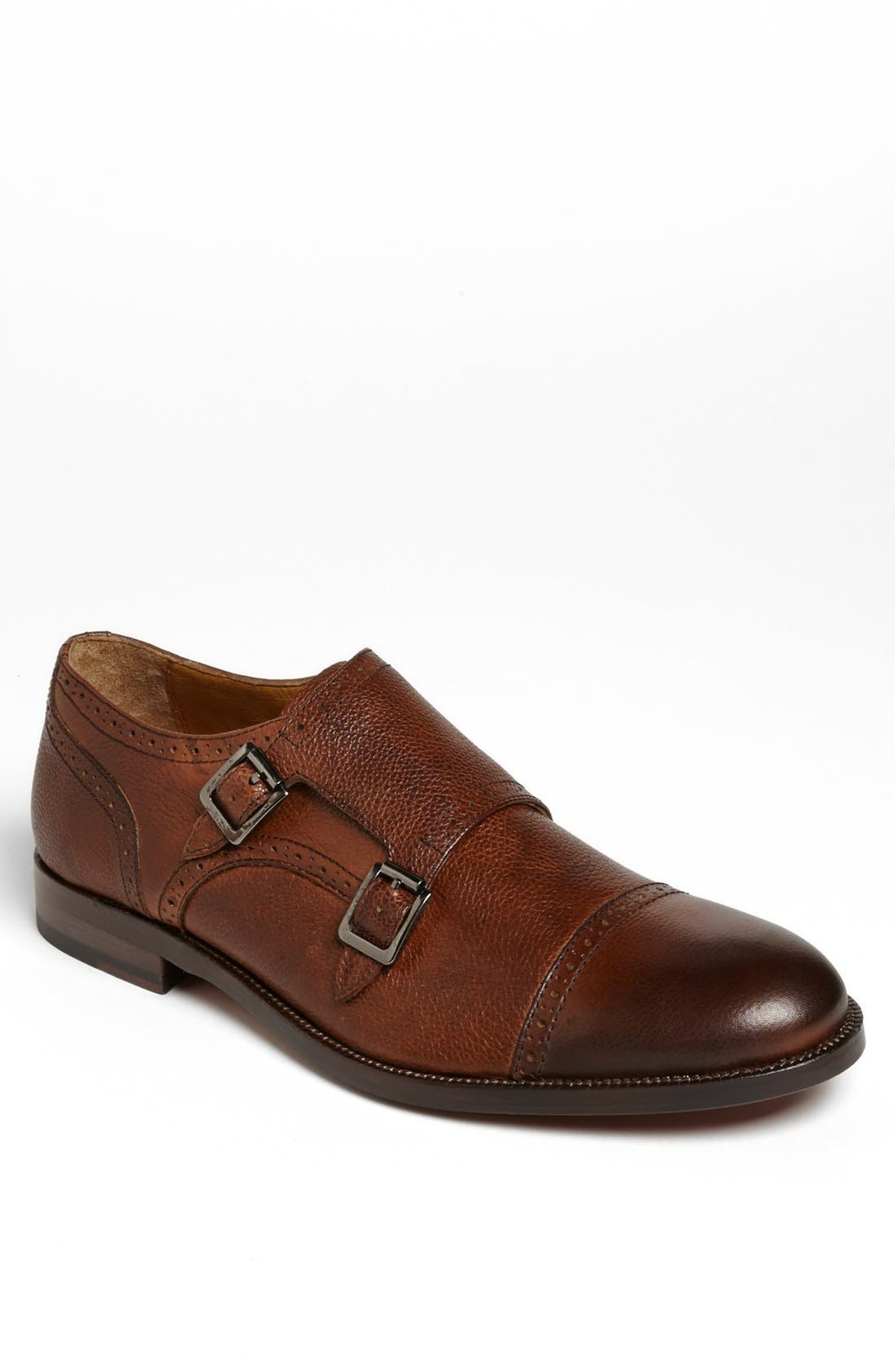 Main Image - Johnston & Murphy 'Clayton' Double Monk Slip-On (Online Only)
