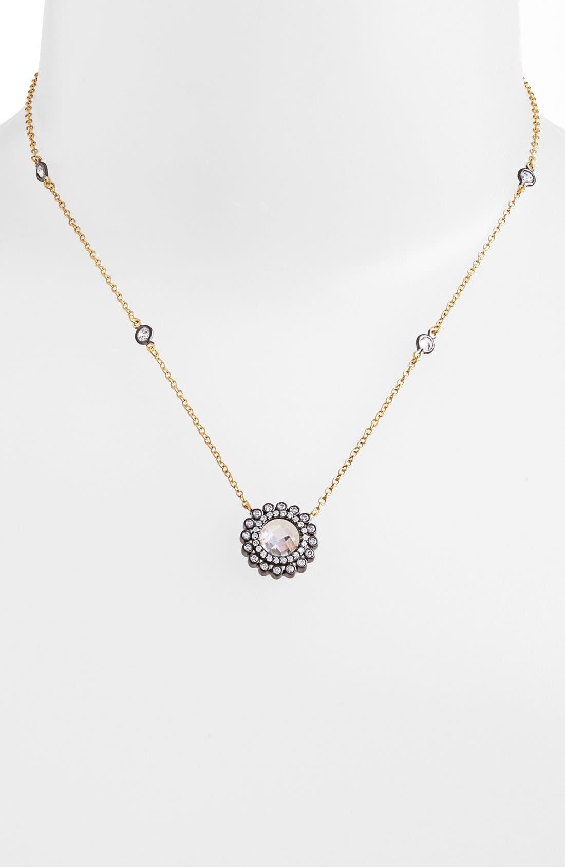 Main Image - FREIDA ROTHMAN 'Hamptons' Wildflower Pendant Necklace