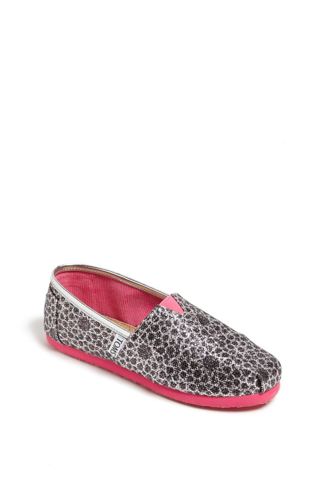 Alternate Image 1 Selected - TOMS 'Classic Youth - Moroccan Alpargata' Slip-On (Toddler, Little Kid & Big Kid)