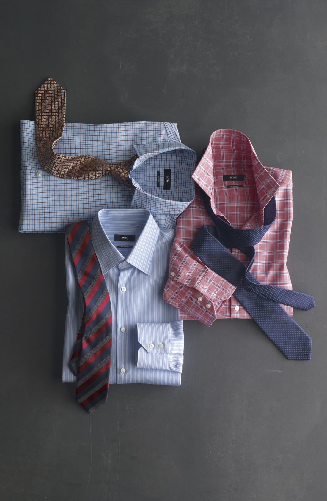 Alternate Image 4  - BOSS HUGO BOSS 'Marlow' Sharp Fit Dress Shirt