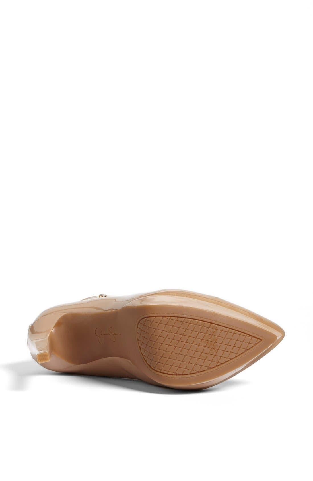 Alternate Image 4  - Jessica Simpson 'Violla' Ankle Strap Pointy Toe Pump