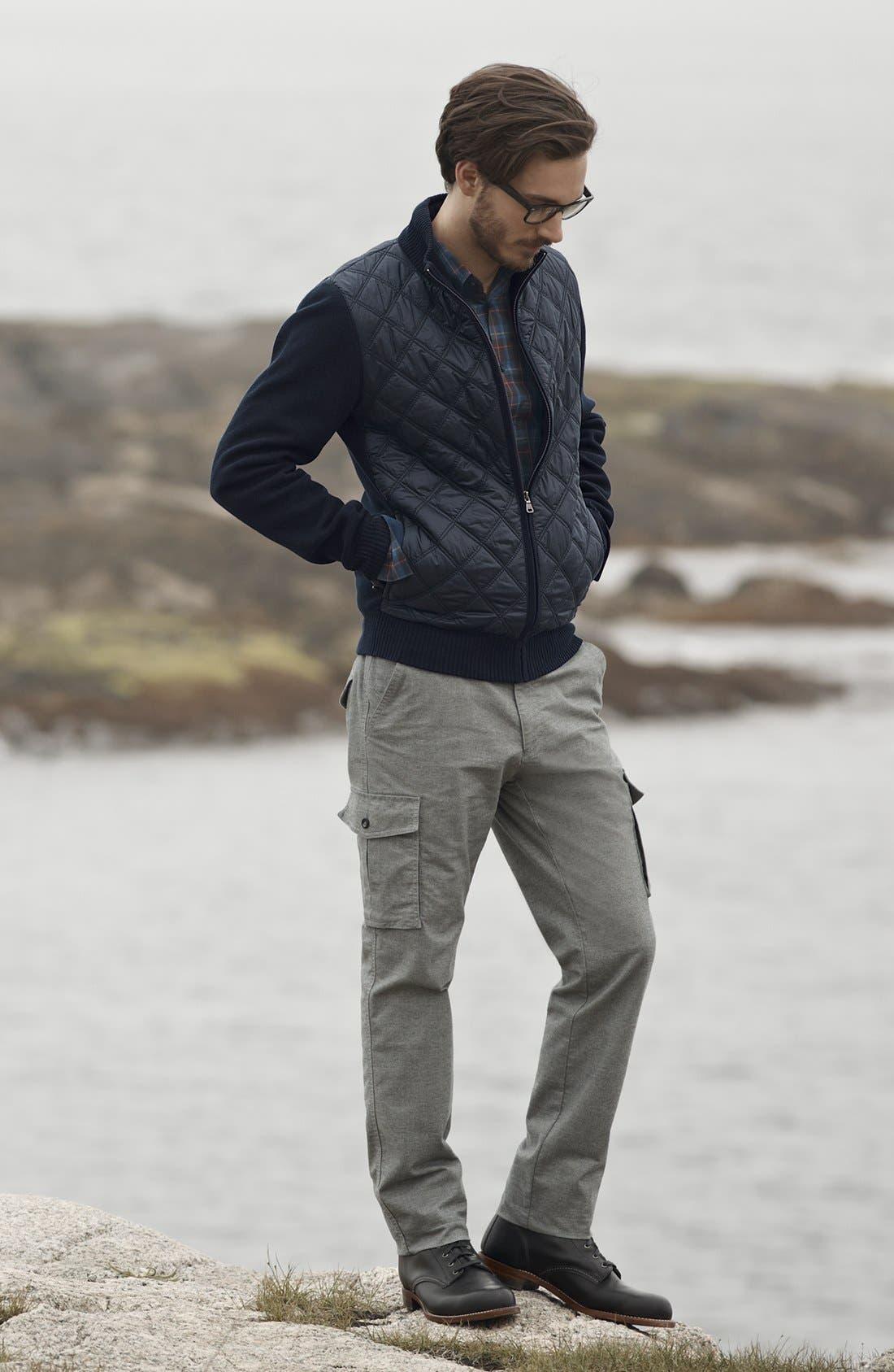 Alternate Image 1 Selected - BOSS HUGO BOSS Sweater, Sport Shirt & Pants