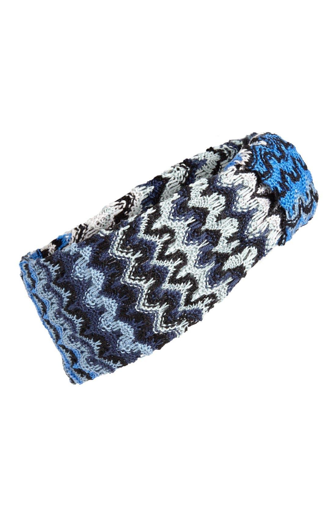 Main Image - Missoni Zigzag Ombré Head Wrap