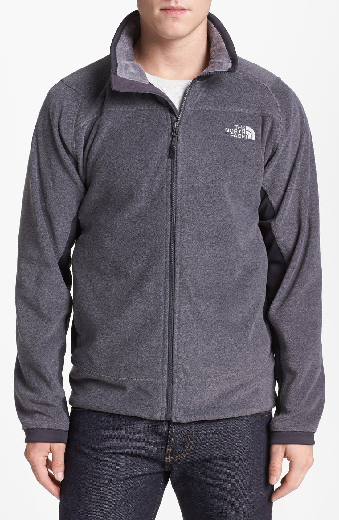Alternate Image 1 Selected - The North Face 'Valence' FlashDry™ Fleece Jacket