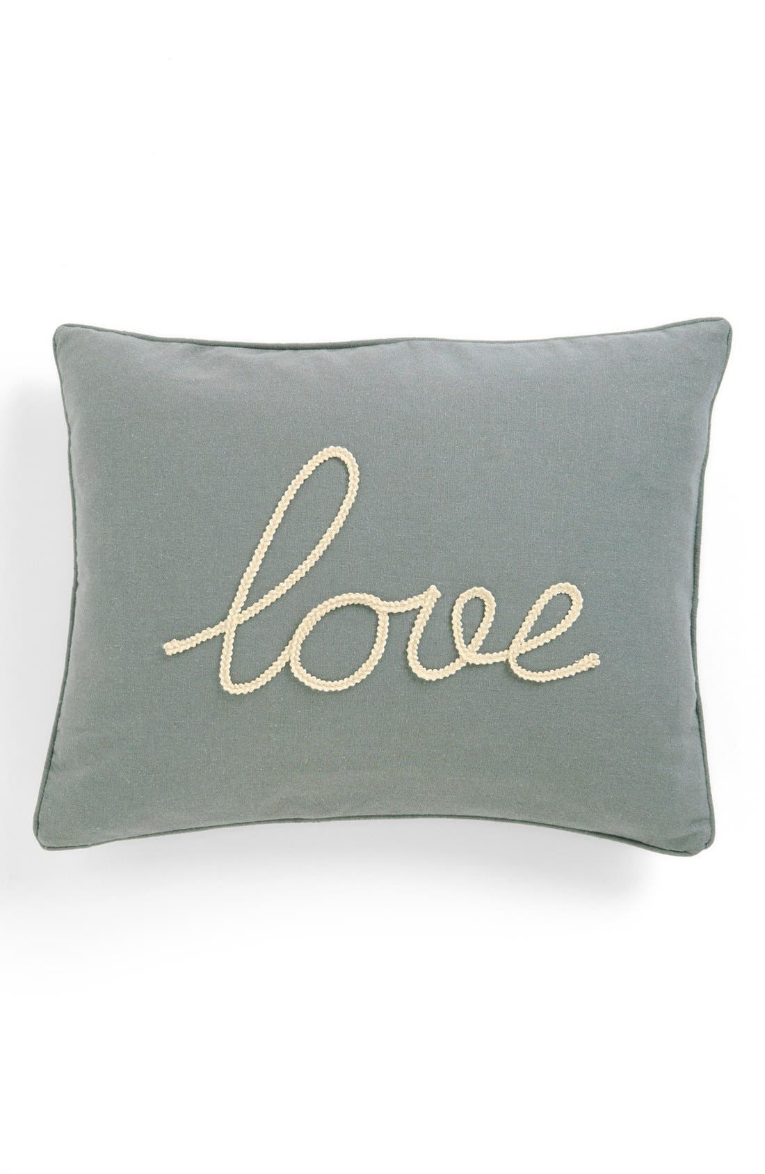 Alternate Image 1 Selected - Levtex 'Love' Pillow