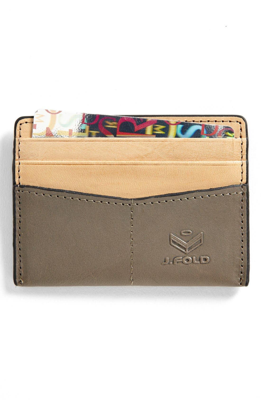 Main Image - J. Fold 'Thunderbird' Card Holder
