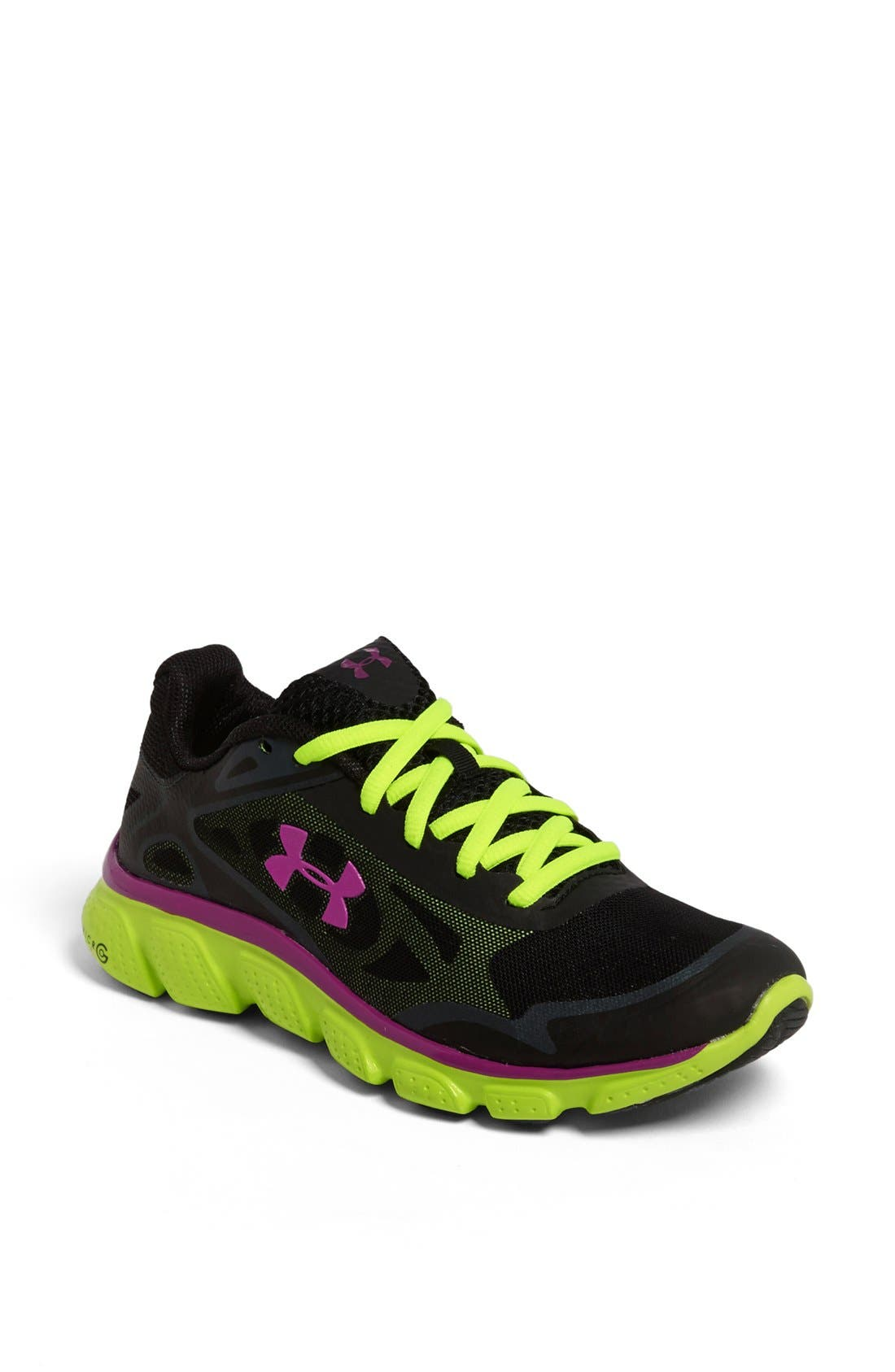 Alternate Image 1 Selected - Under Armour 'Micro G® Pulse' Running Shoe (Women)