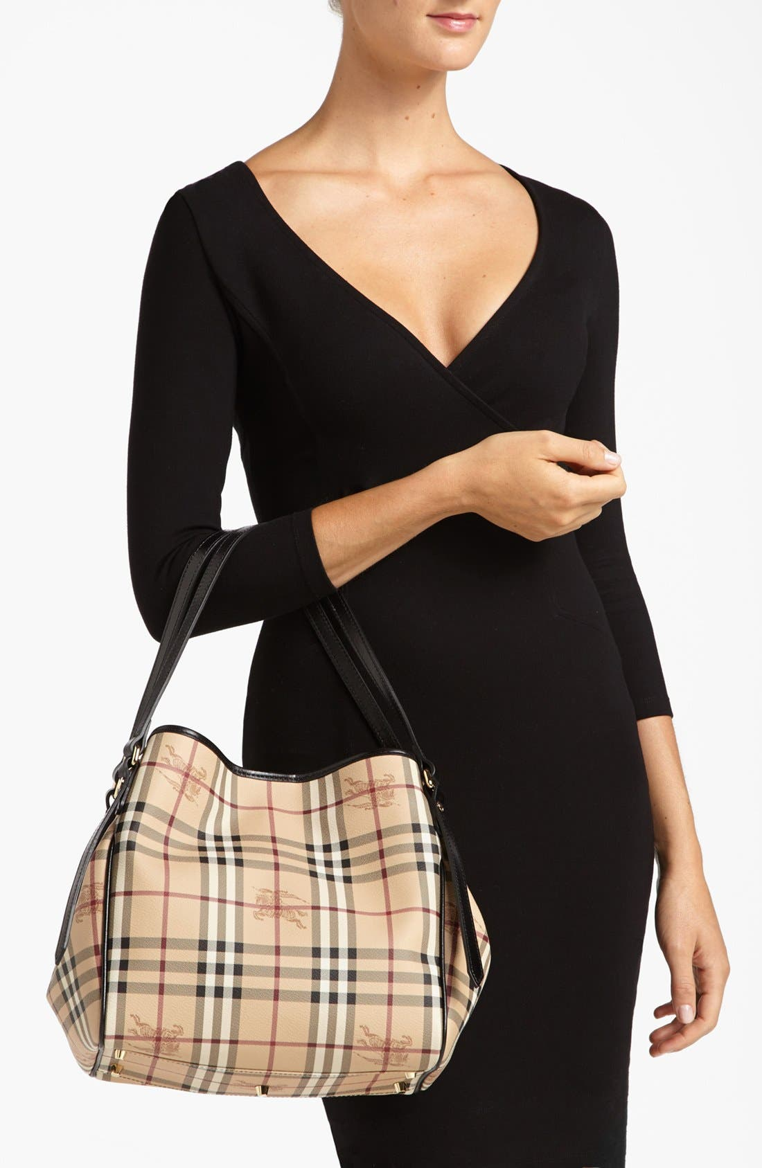 Alternate Image 2  - Burberry 'Haymarket Check - Small' Shoulder Tote