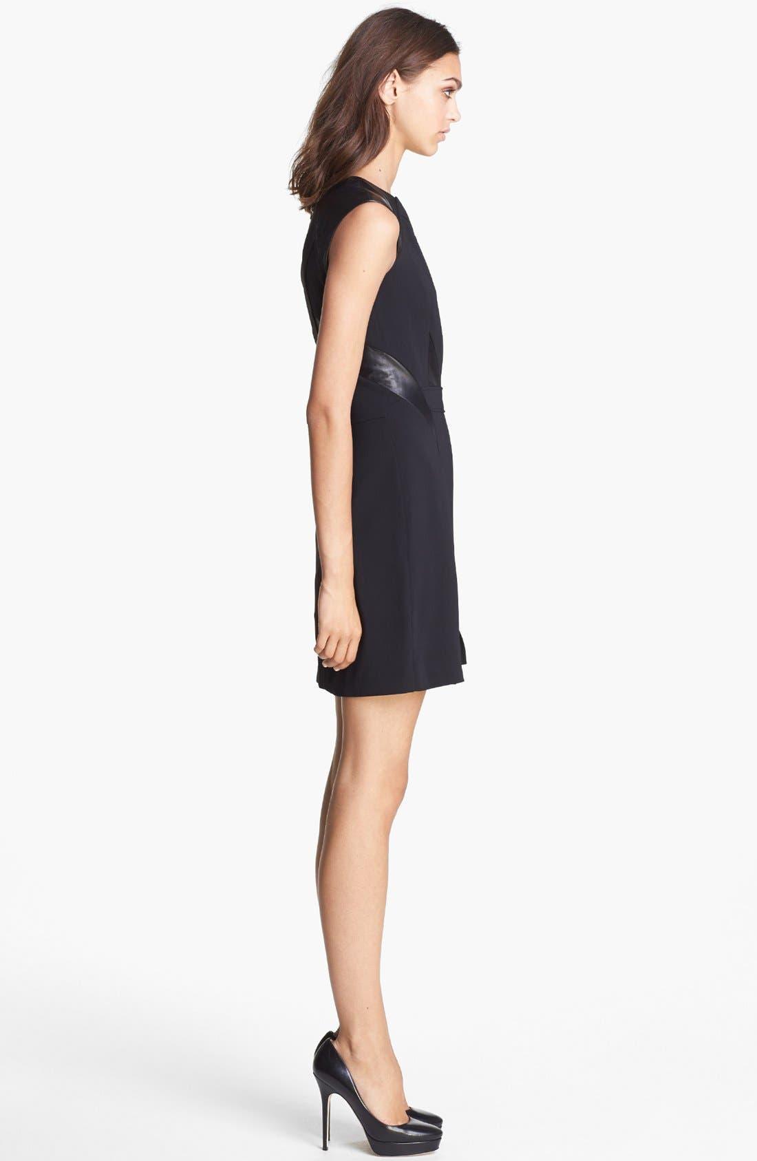 Alternate Image 3  - The Kooples Leather Detail Dress